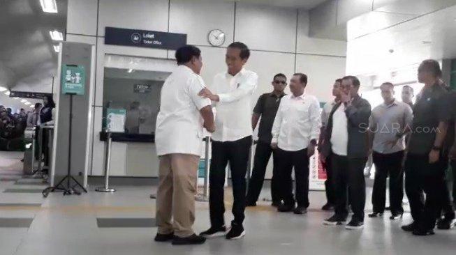 Jokowi dan Prabowo Santap Siang di Sate Senayan, FX Sudirman