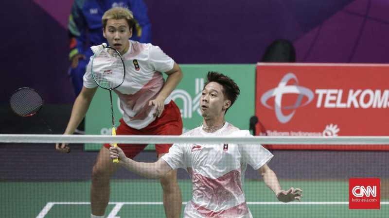 Strategi Jitu Kevin/Marcus Lolos ke Semifinal Jepang Terbuka