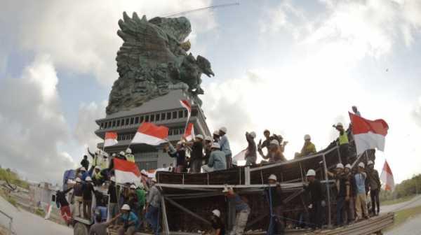 Jokowi Resmikan Patung Garuda Wisnu Kencana, Kalahkan Liberty AS