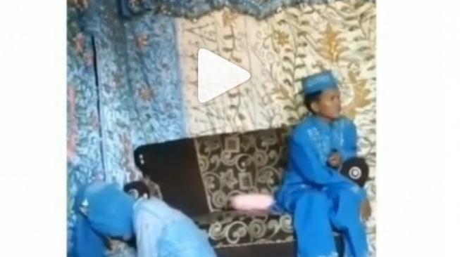 Viral Video Pengantin Perempuan Nangis Minta Pulang saat di Pelaminan