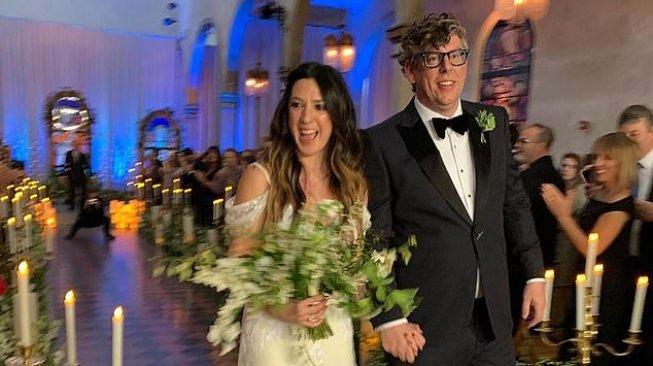 Punya Bayi, Michelle Branch Menyusui saat Pesta Pernikahan