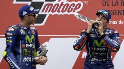 Valentino Rossi Ungkap Kondisi Hubungan dengan Vinales