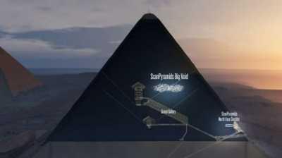 Polemik Temuan Ruang Kosong Sebesar Pesawat dalam Piramida Khufu