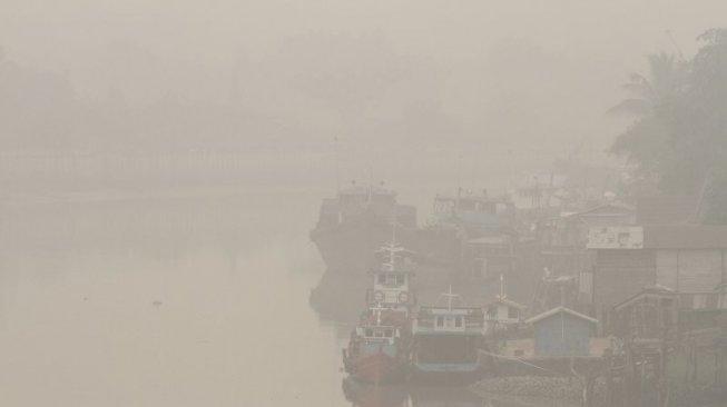 Ribuan Bayi di Sumsel Kena Infeksi ISPA karena Asap Kebakaran Hutan
