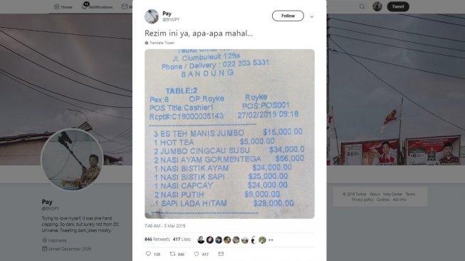 Makan di Restoran Bandung Ini Habis Rp 3 Miliar, Kok Bisa?