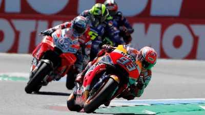 Marquez: Dovizioso Ingin Saya Blunder di MotoGP Aragon 2018