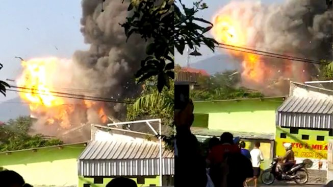 Ledakan Keras di Gudang Senjata Mako Brimob Semarang