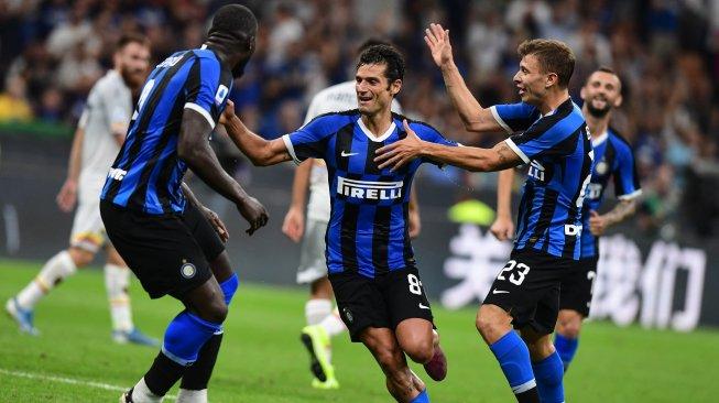 Inter Milan Menang Besar, Conte: Itu Alasan Kami Boyong Lukaku