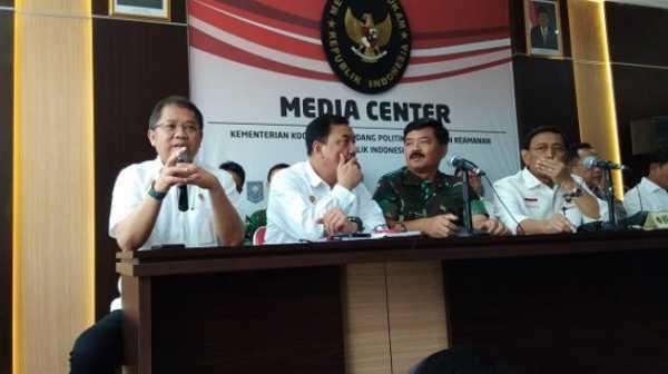 Wiranto soal Pembatasan Medsos 22 Mei: Bukan Sewenang-wenang, Ini Demi NKRI