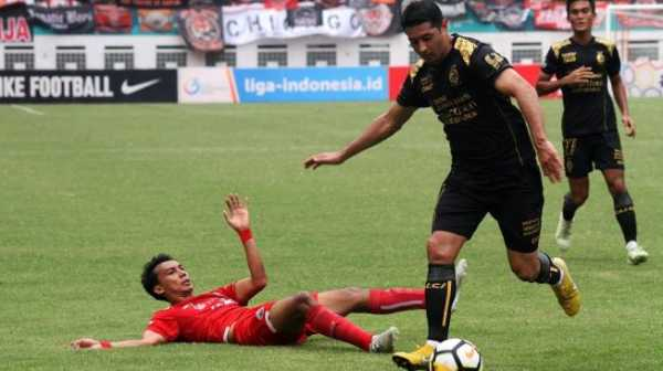 Vizcarra Pakai Nomor Punggung 7 di Persib Bandung