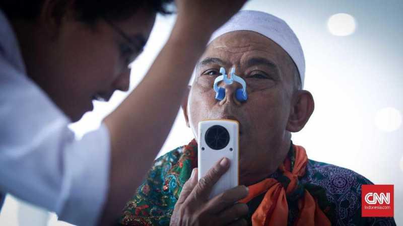 Data Kesehatan Jemaah Haji Tahun Ini Berbentuk Digital