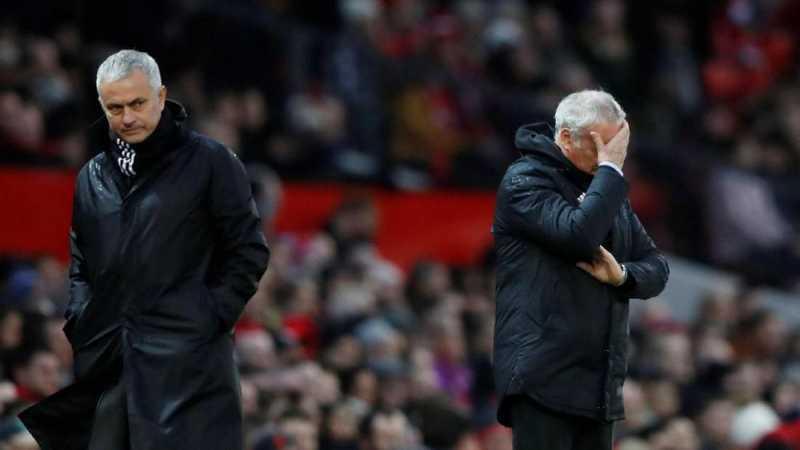 Mourinho Salahkan Ranieri Usai Man United Bungkam Fulham