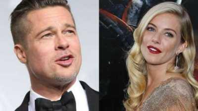 Brad Pitt Kepergok Cium Sienna Miller, Gebetan Baru?