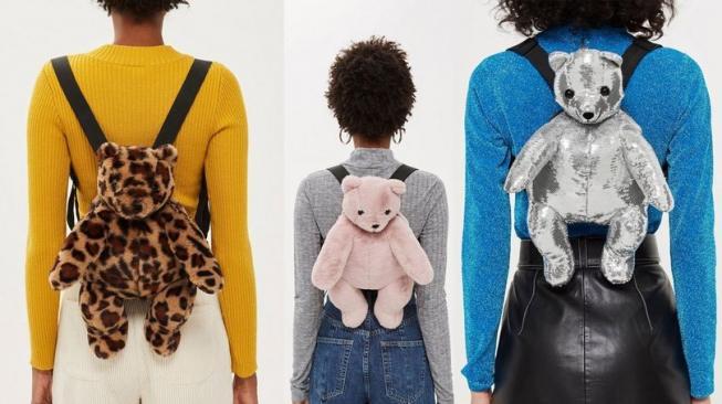 Tas Teddy Bear Imut untuk Perempuan Dewasa, Siapa Mau?