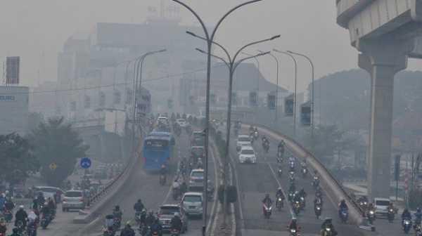 Kabut Asap di Jambi, PNS Hamil Diliburkan
