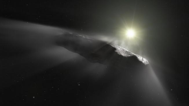 Oumuamua Pesawat Alien? Ini Kata Penemunya