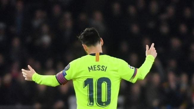 Barcelona Bantai Eibar, Messi Cetak Rekor Barudi Eropa