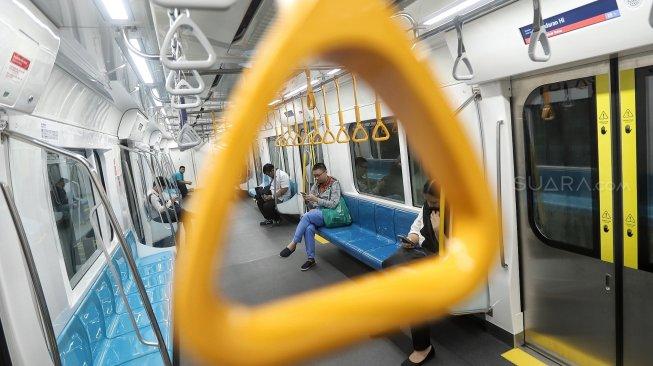 Sebulan Beroperasi, MRT Klaim Tembus 80 Ribu Lebih Penumpang