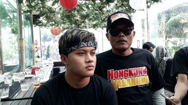 Rizky Febian Girang Main Film Bareng Sule