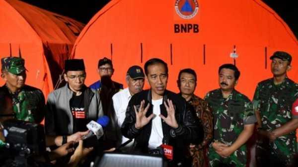 Gempa Lombok Presiden Minta Segala Masalah Diselesaikan Cepat