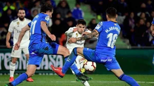 Tahan Real Madrid 0-0, Getafe Buka Asa ke Liga Champions