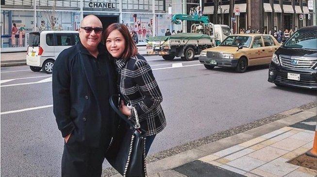 7 Potret Maia Estianty dan Irwan Mussry di Shanghai, Sukses Bikin Envy Deh!