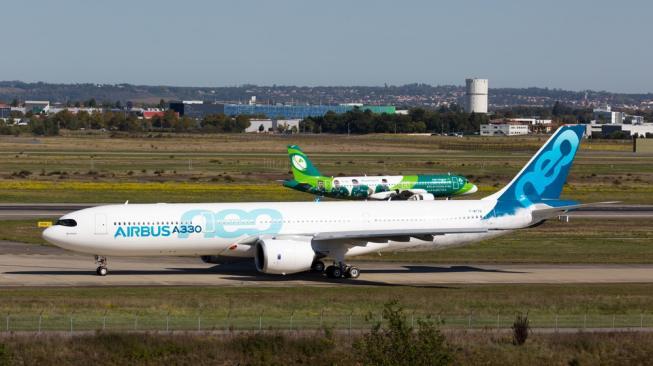 Lawan Boeing, Pesawat Airbus A330neo Diperbarui