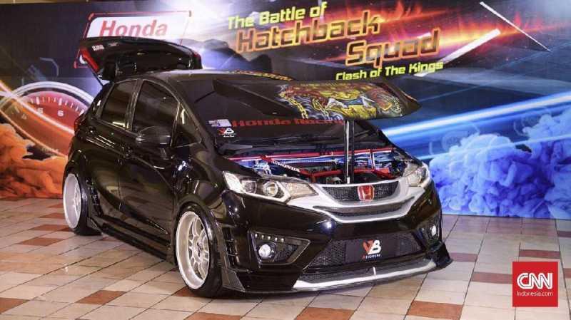 Intip Hasil Utak-atik Raja Modifikasi Honda Jazz dan Brio