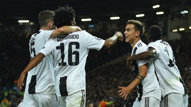 Bungkam MU di Old Trafford, Juventus Masih Sempurna