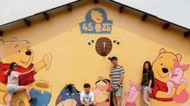 Desa Winnie the Pooh, Meriahnya Destinasi Wisata Baru di Taiwan