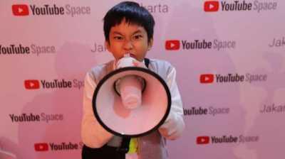 Keren! Putra Deddy Corbuzier Dapat Penghargaan dari YouTube