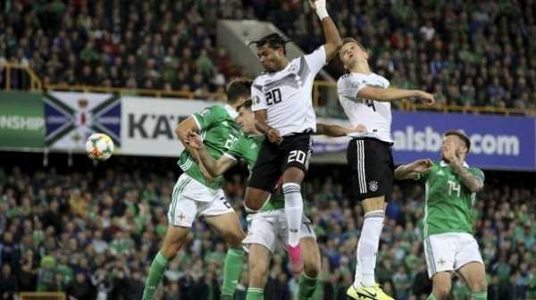 Hasil Kualifikasi Piala Eropa 2020: Jerman Tendang Irlandia Utara 2-0