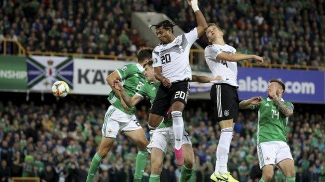 Hasil Kualifikasi Piala Eropa 2020: Jerman Gebuk Irlandia Utara 2-0
