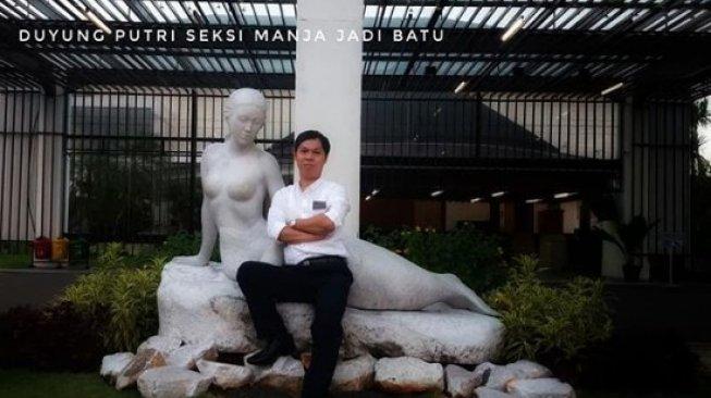 Viral Patung Putri Duyung Telanjang Dada di Ancol Ditutup Kain