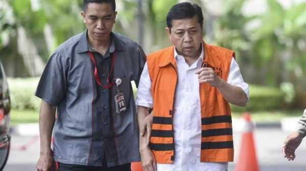 Setya Novanto Klaim Pingsan Usai Tabrakan dengan Tiang Listrik