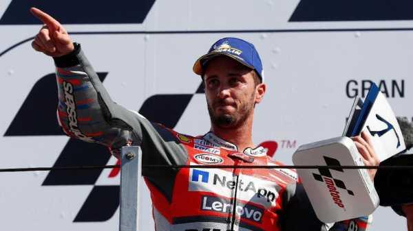 Dovizioso Menangi Balapan Ekstrem di MotoGP Valencia 2018