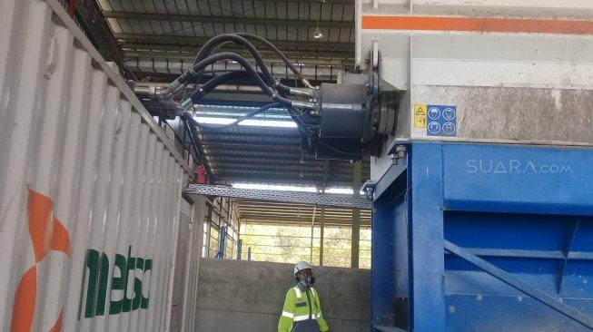 Melihat Lebih Dekat Pengolah Sampah Teknologi Jerman Penghasil Bahan Bakar