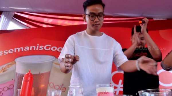 Gibran Anak Jokowi Luncurkan Goola, Minuman Tradisional Kekinian