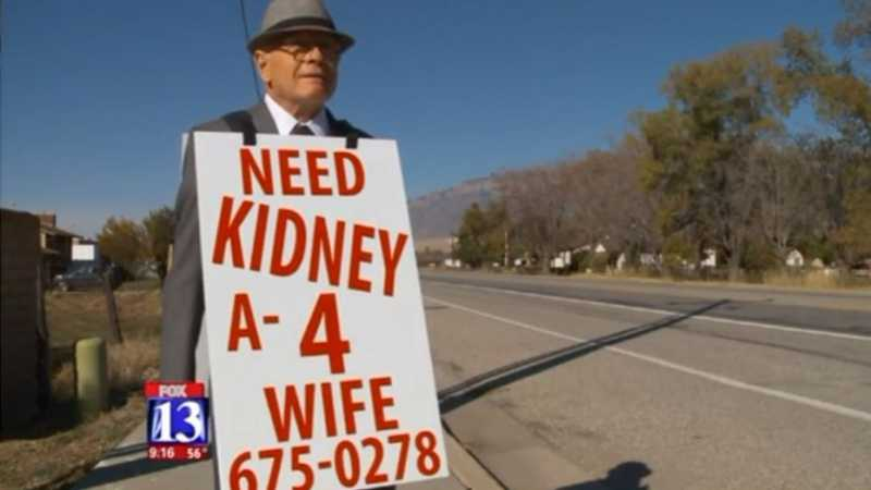 Pria 74 Tahun Ini Berjalan Kaki Demi Cari Donor Ginjal