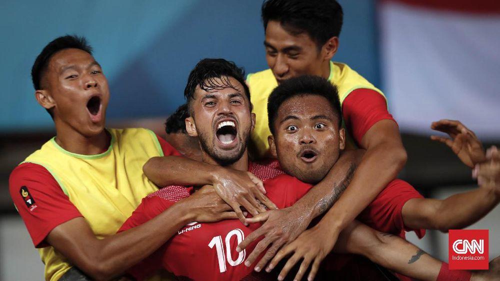 PSSI Daftarkan 50 Pemain Timnas Indonesia ke Piala AFF 2018