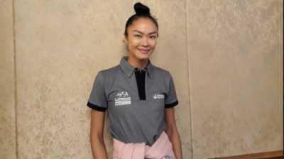 Kelly Tandiono Terjun dari Kapal Perang dan Jalani Triatlon