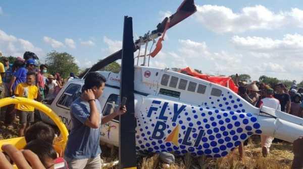 Helikopter Jatuh di Lombok, 3 Warga Negara Asing Jadi Korban
