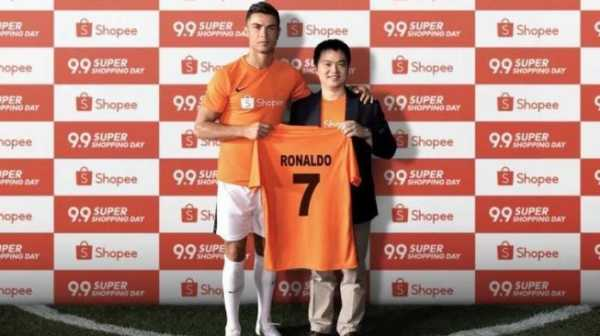 Tak Ikhlas Ronaldo Goyang Shopee, Sejumlah Fans Mencibirnya