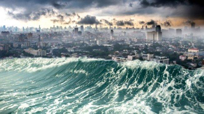 Pantai Selatan Jawa Pernah Disapu Tsunami 30 Meter