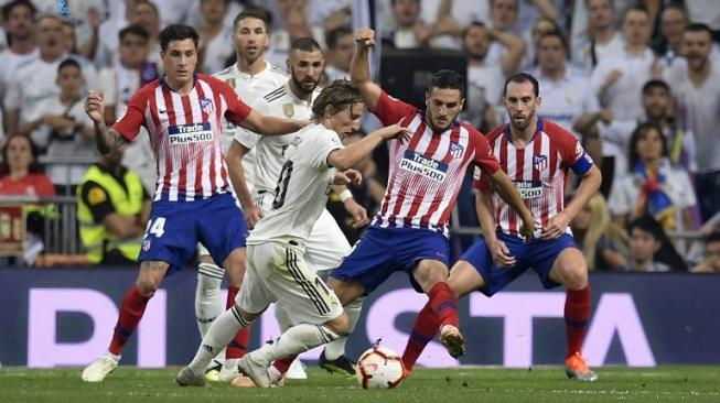 Real Madrid Vs Atletico Tanpa Gol di Santiago Bernabeu