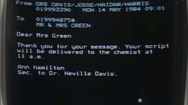 Repotnya Kirim Email di Tahun 80-an
