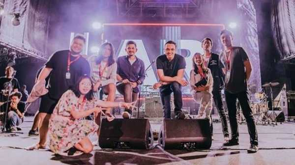 Aksi Beringas Barasuara di Panggung We The Fest 2019
