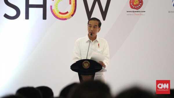 Jokowi: Revolusi Industri 4.0 Tak Gerus Industri Otomotif