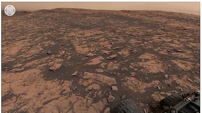 Dramatisnya Panorama 360 Derajat di Mars