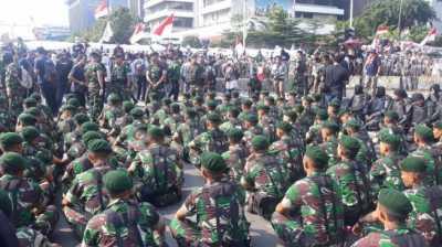 Suasana Ibu Kota Jakarta Mulai Kondusif, Berikut Kronologi Amuk Massa